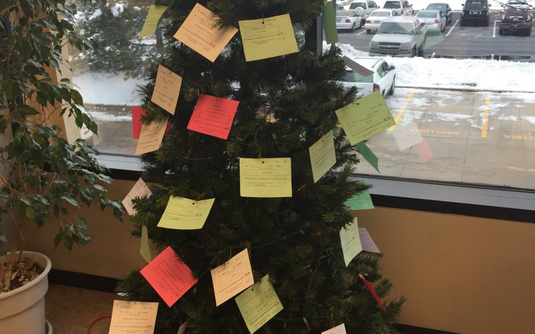 The Giving Tree Rabine Group Employees Give Back